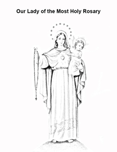 Coloring Pages Devotion To Our Lady